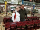 Claire with high profile New Covent Garden trader